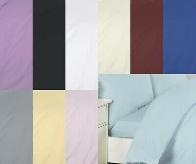 25cm Approximately Fitted Sheet 100/% Egyptian Cotton T200 All Sizes Available