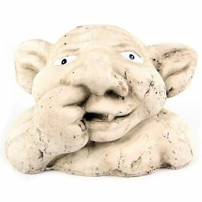 Latex Mould for making this nose picking gargoyle