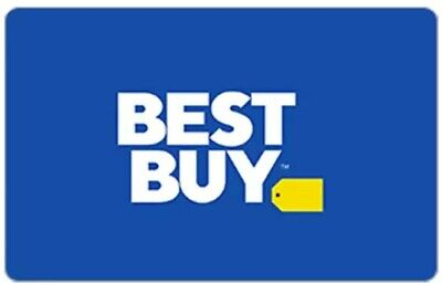 $100 Best Buy Gift Card New  Free Shipping