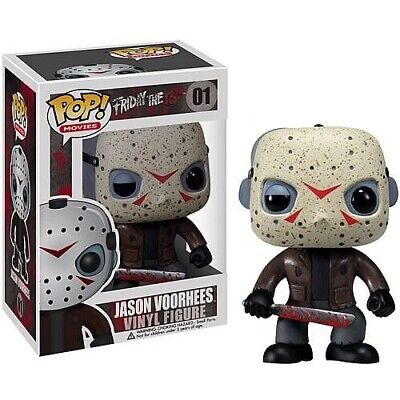 Funko Pop! Movies: Friday the 13th JASON VOORHEES #1 With Protector