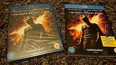 The Dark Knight Rises (Blu-ray, 2012, 2-Disc Set) NEW AND SEALED