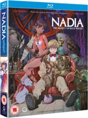 Nadia - The Secret of Blue Water: Complete Collection (UK IMPORT) Blu-ray NEW