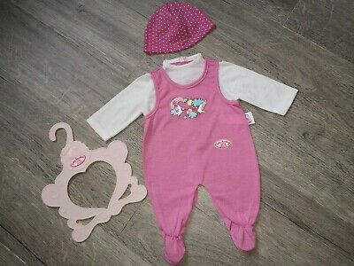 "Baby Annabell Dolls Clothes  Romper Outfit & Hat  For 18"" Annabell Used Once"
