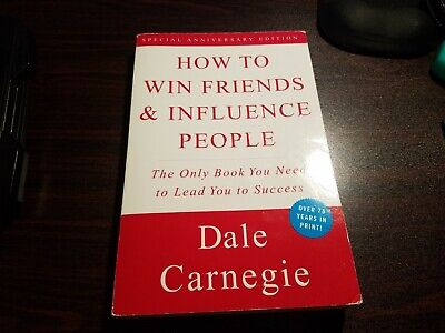 HOW TO WIN FRIENDS AND INFLUENCE PEOPLE Dale Carnegie (Paperback, 1998) (USED)