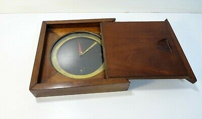 Antique Large Compass Sec Rat Fink Compass Instrument Marine Boat Deb Twentieth