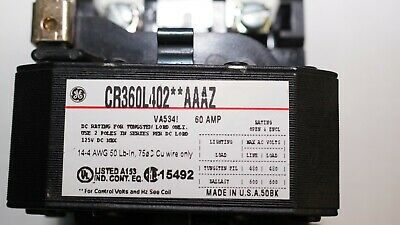 CR360L40202AAAZ GE Lighting Contactor (New/Other)