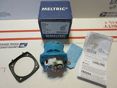 Meltric Inlet/ Plug DSN30 63-38143 30A 600VAC 15hp