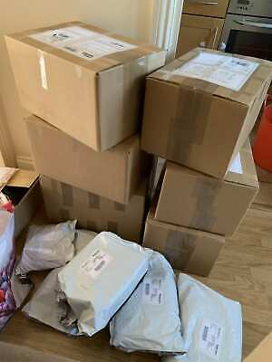 Undelivery parcels new electric, clothing toys games , dvds, etc all new 7 items