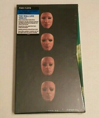 New 2 CD Box ! Pink Floyd -Is There Anybody Out There? The Wall: Live (limited)