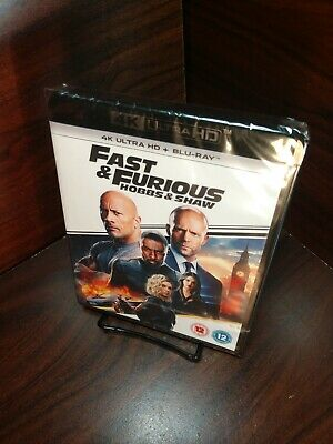Hobbs and Shaw (4K UHD+Blu-ray,REGION FREE)-NEW-Free Shipping with Tracking
