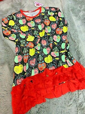 jelly the Pug Candy apple collection Trisha knit dress size 8 NWT