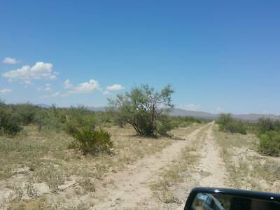 Texas land 100-Acres West-Texas Mountains Electric Road front Access