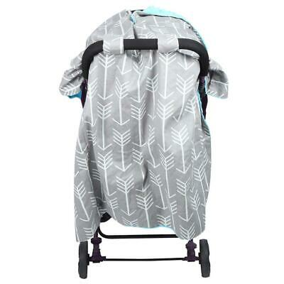 Pink Blue Insect Fly Cover Mosquito Shield Sun Dust Protect Blanket for Pram Str