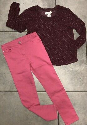 H&M...TU Girls Outfit 7-8 Years Vgc (for 122cm/7y)