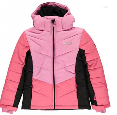 Nevica Bubble Jacket Pink Junior Girl's UK Size 13 Years *REF93*