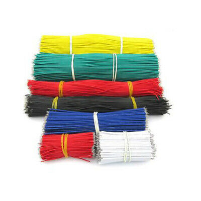130pc Multi-Color 24AWG Jumper Cable Breadboard Wire Double Tinning 5/8/10cm Kit