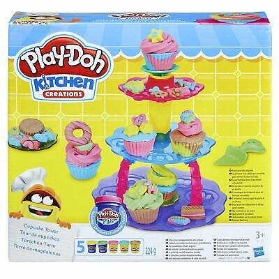 Play-Doh Kitchen Creations Cupcake Tower Creative Modelling Compound Play Set