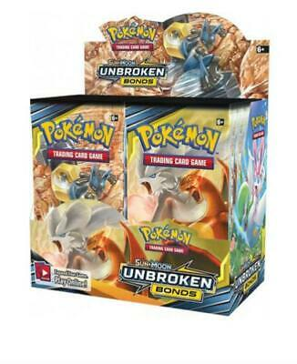 Unbroken Bonds Booster Pack Pokemon Trading Card Game