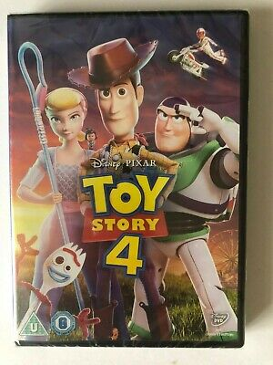 Toy Story 4 [DVD] new and sealed genuine UK DVD .  FREE POST
