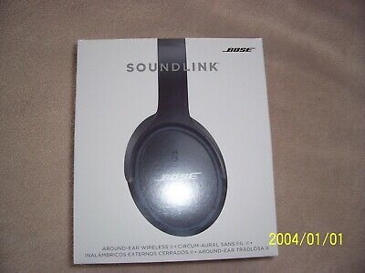 Bose SoundLink II Around-Ear Wireless Headphones -  NFC - Black | NEW SEALED