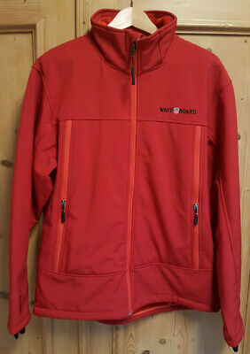 WAVEBOARD HERREN SOFT Shell Jacke XL 54 rot Wave Tex 15K