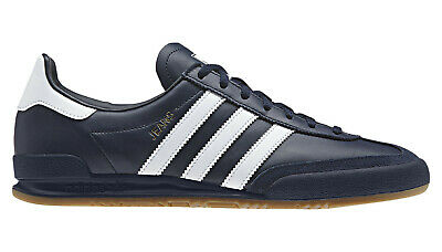 Adidas Originals Jeans Navy Blue Mens/Boys Trainers UK 5 **BRAND NEW**