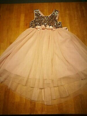 Gorgeous Girl's NEXT Sequin Party/Christmas Dress  - age  6 years