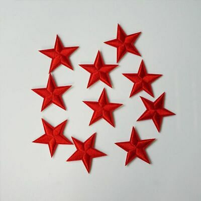 Fabric Cartoon Embroidery DIY Star Bag Clothing Patches Sew Iron on Applique