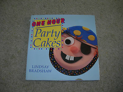 ONE HOUR PARTY CAKES by Lindsay Bradshaw ~ Superb Novelty Cakes~ Figures Animals