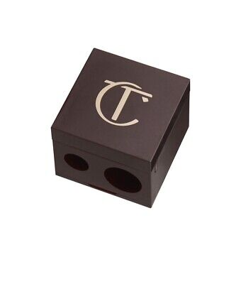Charlotte Tilbury BN Double Cube Pencil Sharpener Rose Gold And Night Crimson