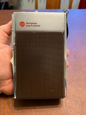 Vintage Westinghouse Cassette Recorder Japan 2323 w/ Original Case