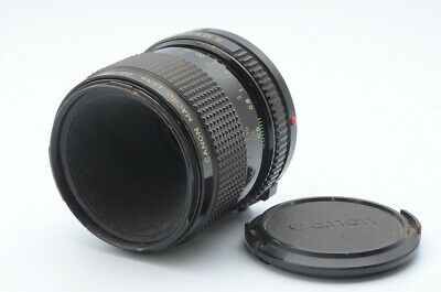 As-is Canon New FD 50mm F/3.5 Macro From Japan!! 113793