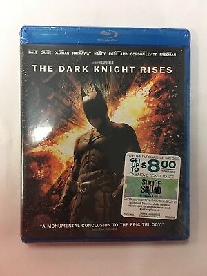The Dark Knight Rises [Blu-ray] NEW!
