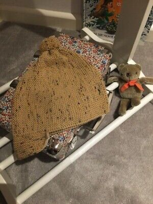 ~ Luxurious 100% Wool Hat in Chic Confetti from Iconic MISHA&PUFF, Rare! ~