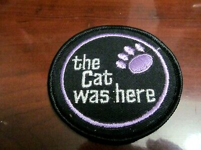 """ARCTIC CAT /""""The Cat Was Here/"""" vintage 2-1//2/"""" sticker circa 1970s"""