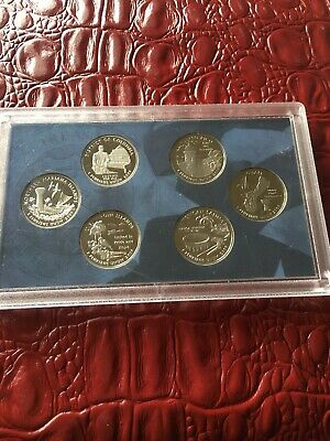 USA 2009 s STATE QUARTERS  6 COIN PROOF SET
