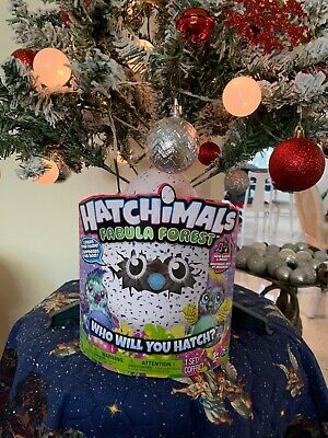 Hatchimals Brand New Fabula Forest Puffatoo Hatching Egg Interactive Toy