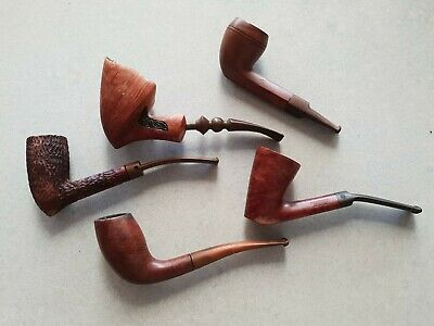 5 vintage pipes in great condition .Most branded see description.