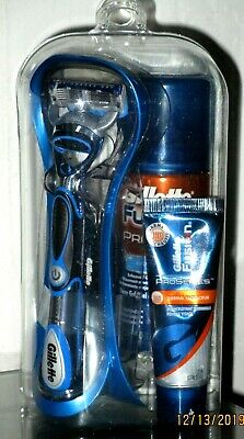 New Gillette Fusion Kit With Proglide Razor, Shave Gel And Cooling Lotion