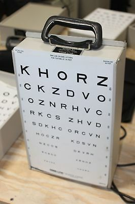 GOOD-LITE CO. Visual Acuity Lighted E Chart Cabinet Model A+ 600600