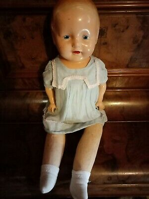 Vintage Composition Doll Antique