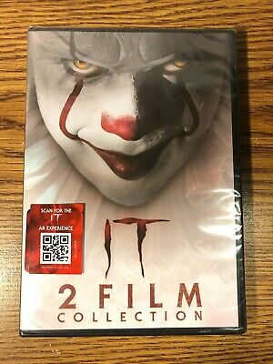 It Chapter One & Two 2 Film Collection DVD NEW SEALED Stephen King Horror 2019