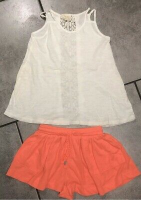Zara Girls Summer Outfit 5-6 Years Vgc (for 110cm/5y)