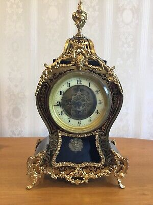 antique french boulle clock.