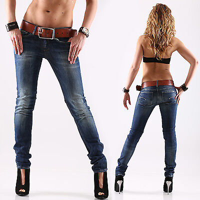 G-star 3301 Skinny Wmn Slim Fit Jeans Pantaloni Donna Nuovo Rugby Wash