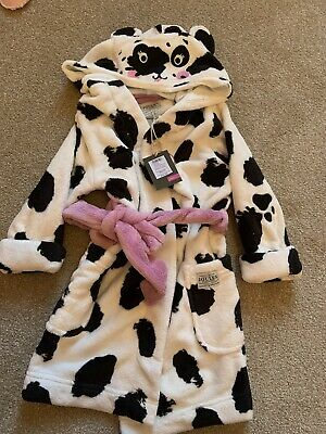 Girls Joules Dressing puppy Gown Age 3-4 years