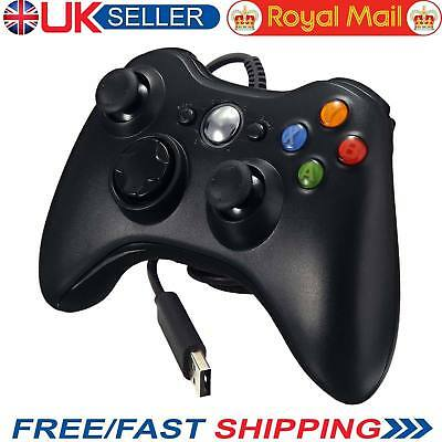Xbox 360 Controller USB Wired Game Pad For Microsoft Xbox 360 PC - UK STOCK
