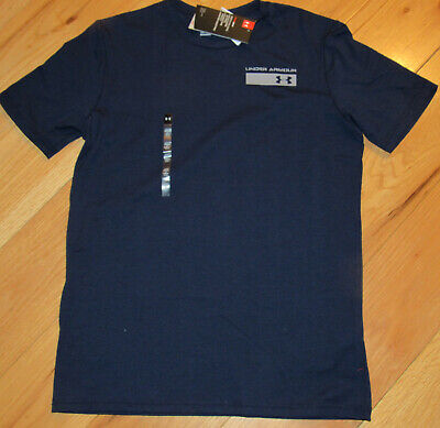 UNDER ARMOUR CHICAGO CUBS BASEBALL CHARGED COTTON SHIRT XL L MEN NWT $34.99