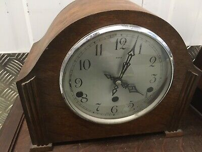 Smiths Enfield Vintage Mantle Clock - For parts or project