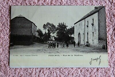 """Carte postale """"Fouches"""" province du Luxembourg"""